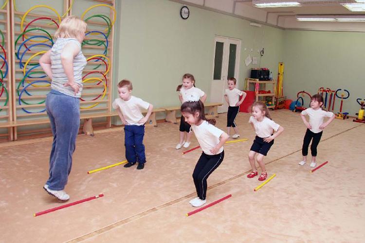 Физкультура для дошколят