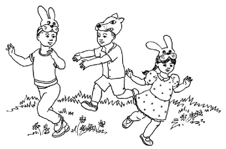 подвижные игры про зайцев
